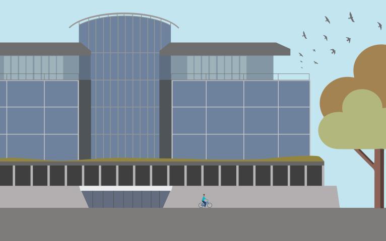 image of koerner library