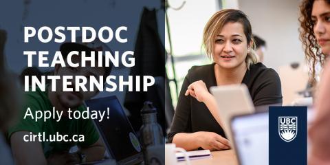 Postdoctoral Fellows' Teaching Internship