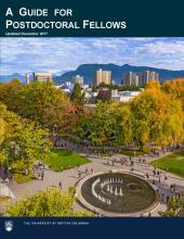 A Guide for Postdoctoral Fellows - Front Cover