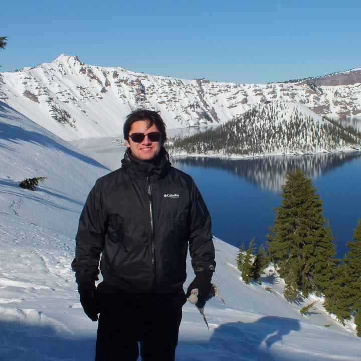 Banting Postdoctoral Fellow Gonzalo Saldias